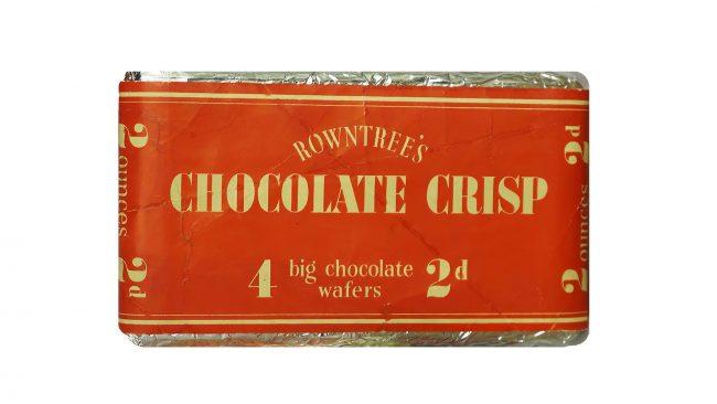 Rowntree's Chocolate Crisp Logo 1935-1937