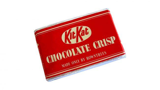 Rowntree's Kit Kat Chocolate Crisp Logo 1937-1945