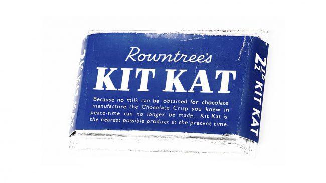 Rowntree's Kit Kat Logo 1945-1947