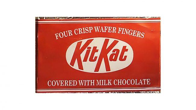 Rowntree's Kit Kat Logo 1947-1988