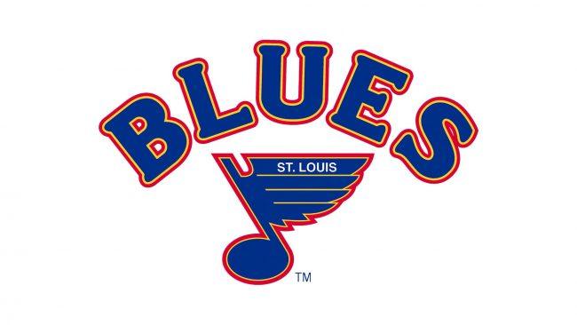 St. Louis Blues Logo 1984-1987