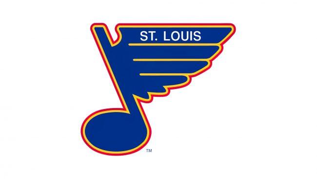 St. Louis Blues Logo 1989-1998