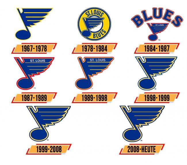 St. Louis Blues Logo Geschichte