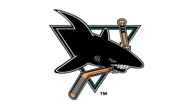 San Jose Sharks Logo 1991-1998