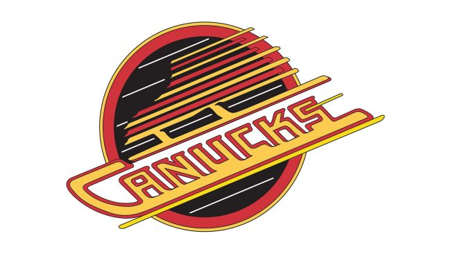 Vancouver Canucks Logo 1992-1997