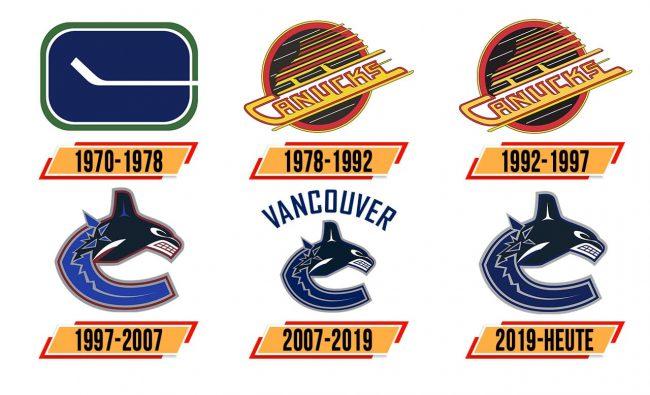 Vancouver Canucks Logo Geschichte