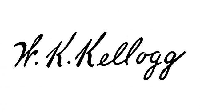 W.K. Kellogg Battle Creek Toasted Corn Flake Company Logo 1906-1907
