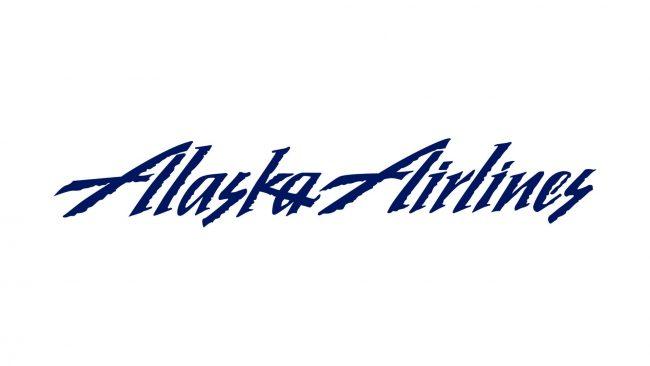Alaska Airlines Logo 1990-2014