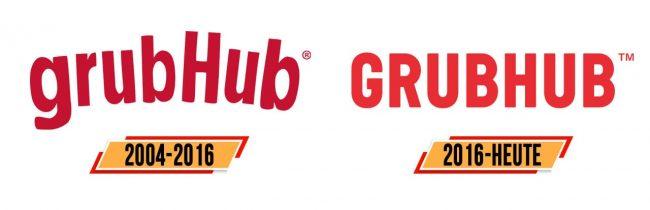 Grubhub Logo Geschichte