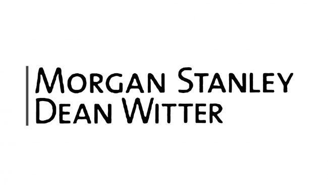 Morgan Stanley Dean Witter Logo 2000-2001