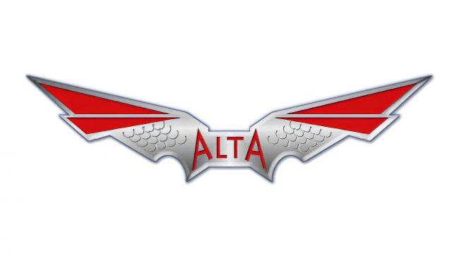 Alta Logo mit Flügeln