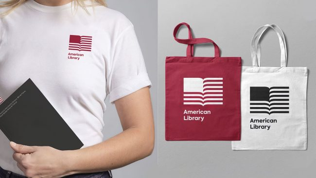 American Library Logo Design durch Klicken