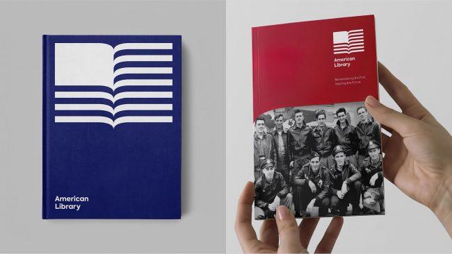 American Library Neues Logo-Design durch Klicken