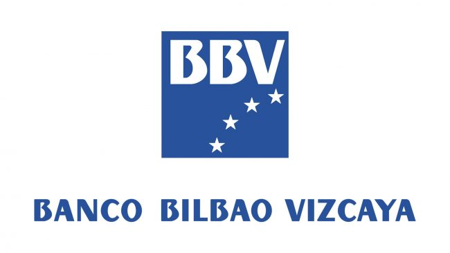 Banco Bilbao Vizcaya (BBV) Logo 1989-2000