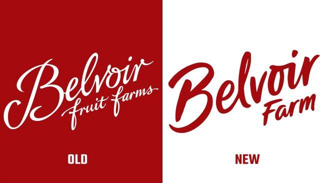 Belvoir Farms Altes und Neues Logo