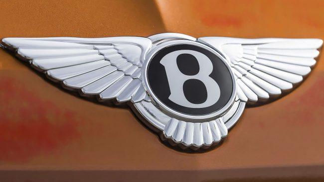 Bentley Logo mit Flügeln