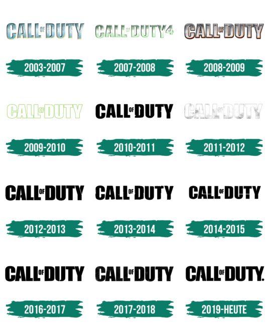 Call of Duty Logo Geschichte