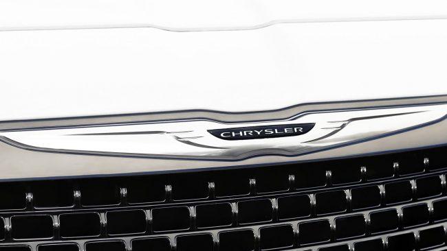 Chrysler Logo mit Flügeln
