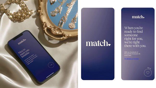 Collins neues Logo Design Dating Site Match