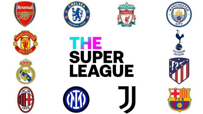 Die Teams, die gegründet haben The Super League