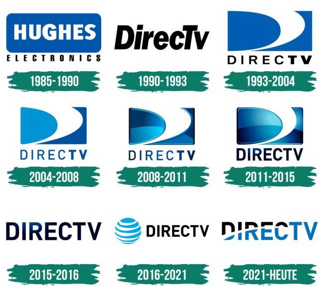 DirecTV Logo Geschichte