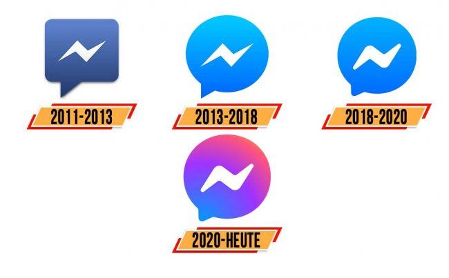 Facebook Messenger Logo Geschichte
