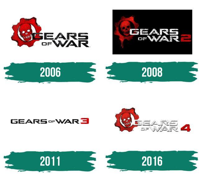 Gears of War Logo Geschichte