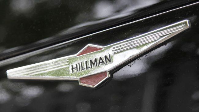 Hillman Logo mit Flügeln