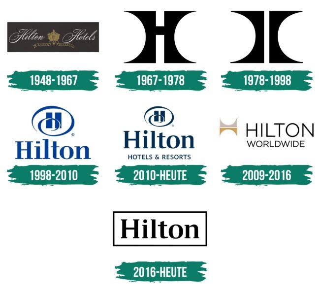 Hilton Logo Geschichte