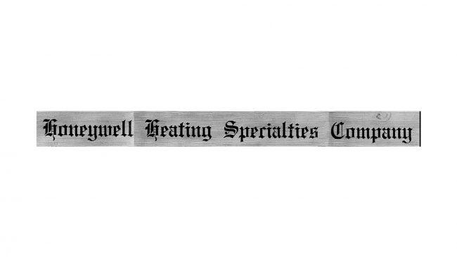 Honeywell Logo 1924-1937