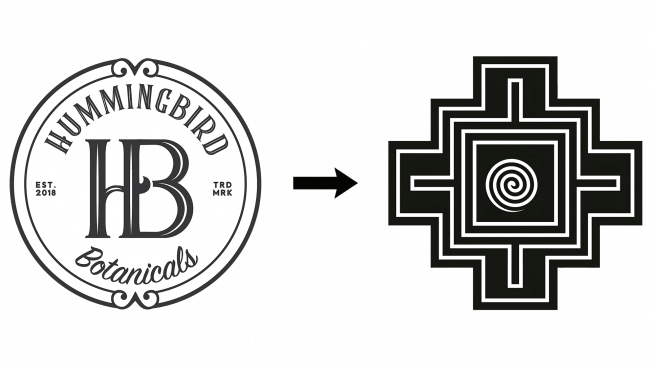 Hummingbird Botanicals Altes Logo und Onaya Neues Logo