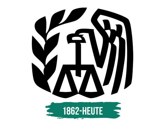 IRS Logo Geschichte