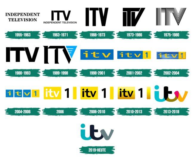 ITV Logo Geschichte