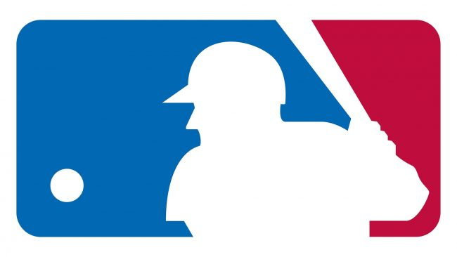 Major League Baseball silhouetted batter Logo