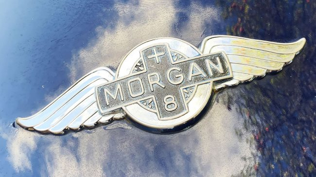 Morgan Logo mit Flügeln