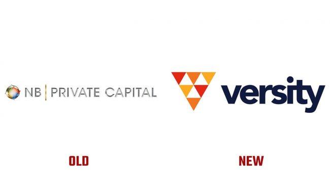 NB Private Capital und Versity Investments Neues und Altes Logo