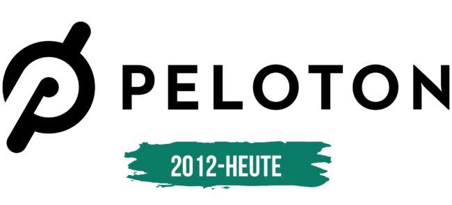 Peloton Logo Geschichte