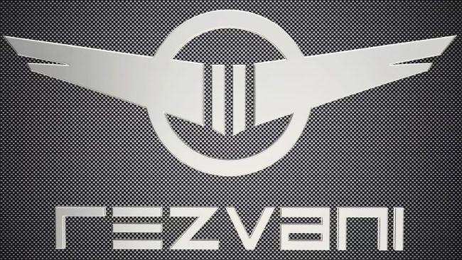Rezvani Logo mit Flügeln