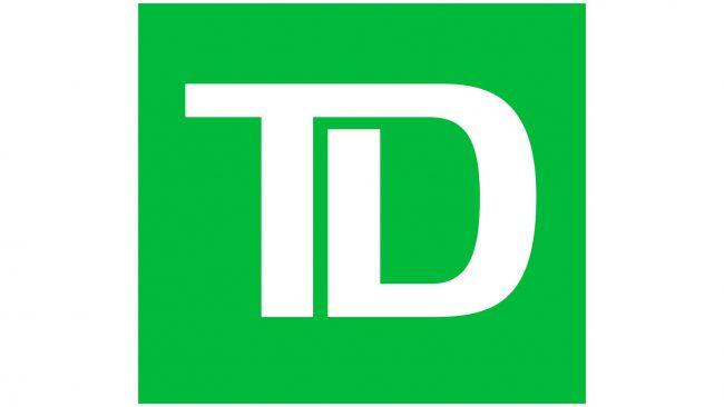TD Toronto Dominion Bank Logo 2019-heute