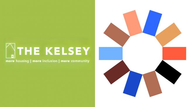 The Kelsey Neues und Altes Logo