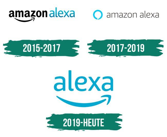 Alexa Logo Geschichte