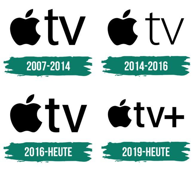 Apple TV Logo Geschichte