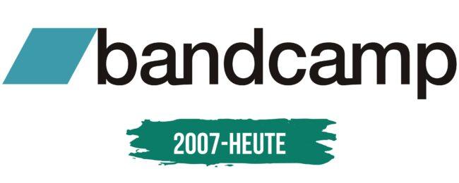 BandCamp Logo Geschichte