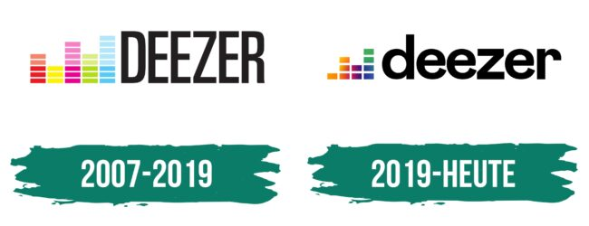 Deezer Logo Geschichte