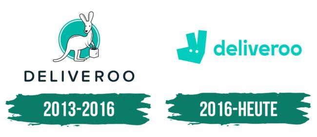 Deliveroo Logo Geschichte