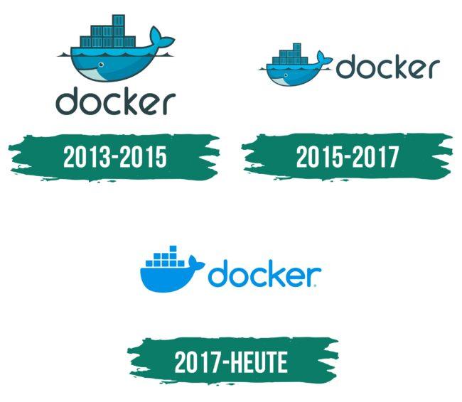Docker Logo Geschichte