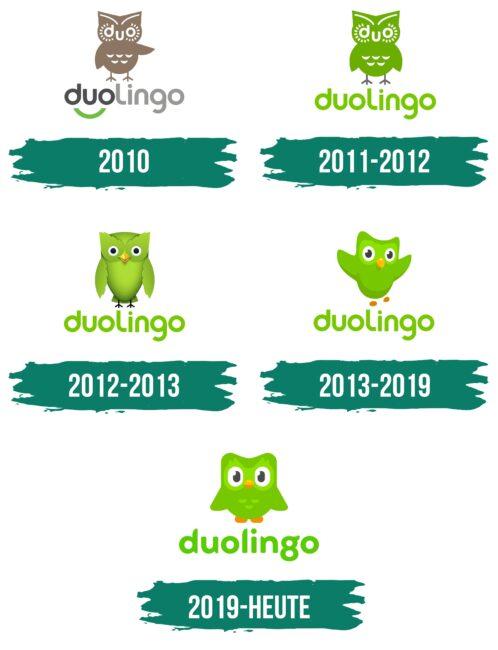 Duolingo Logo Geschichte