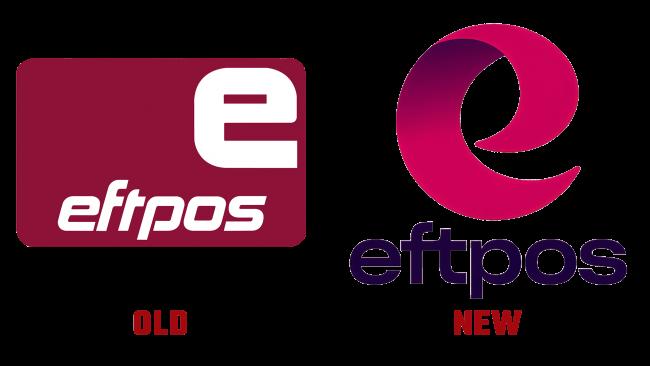 Eftpos Altes und Neues Logo