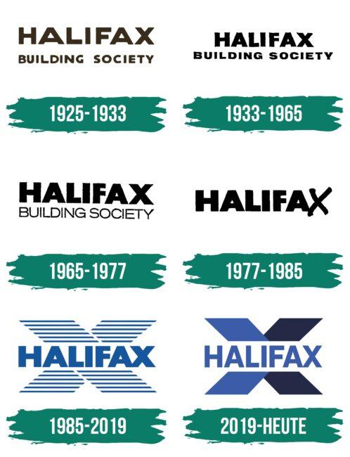 Halifax Logo Geschichte