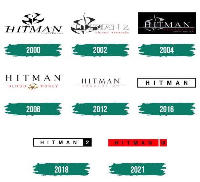 Hitman Logo Geschichte